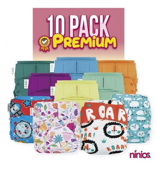 10 PACK PREMIUM **Selecciona tus diseños y colores al gusto**