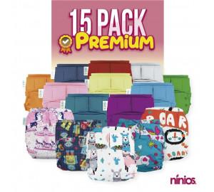 15 PACK PREMIUM **Selecciona tus diseños y colores al gusto**