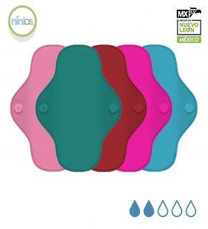 5 Pack PantiProtector (Colores Brillantes)