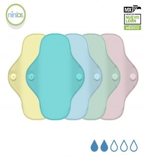 5 Pack PantiProtector (Colores Pasteles)