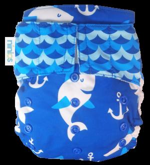 pañal de natación tiburones