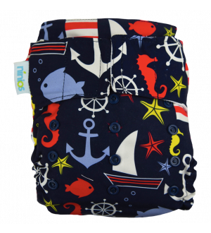 pañal de natación marinero