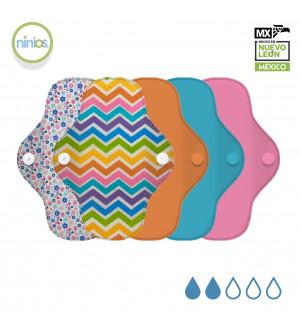 5 Pack PantiProtector (Colores Brillantes y Diseño)